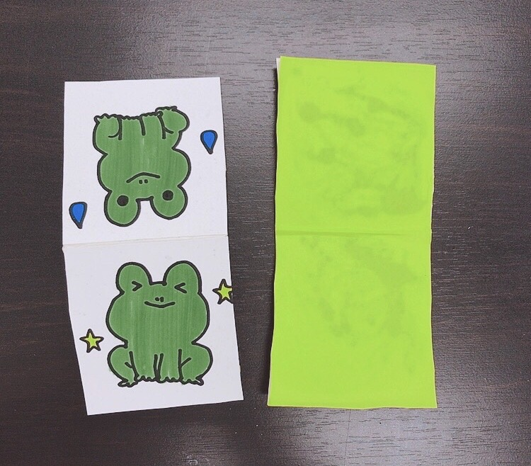 ぴょんぴょん カエル 牛乳パック 「子供 手作り プレゼント」のアイデア